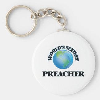 """O pregador o mais """"sexy"""" do mundo chaveiros"""