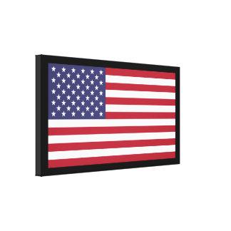 O prêmio da extra grande da bandeira dos E.U. esti Impressão Em Tela