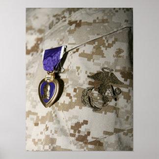 O prêmio de Purple Heart Pôsteres