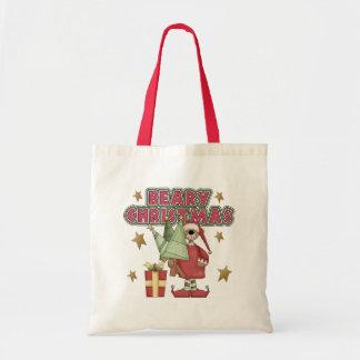 O presente das crianças do Natal Bolsa Para Compras