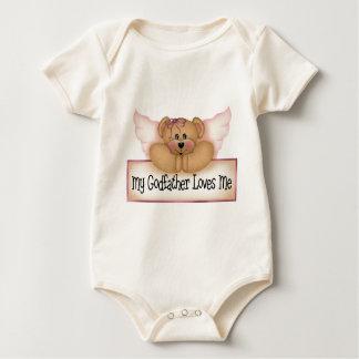 O presente das crianças do padrinho body para bebê