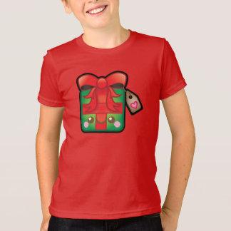 O presente de Natal bonito de Kawaii caçoa o T-shirt