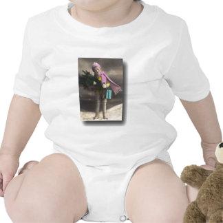O presente do Natal Macacãozinho Para Bebê
