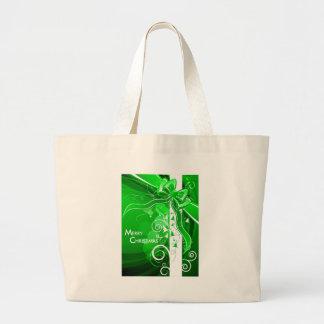 O presente envolveu 2 bolsas para compras