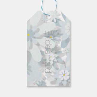 O presente floral etiqueta (Customisable)