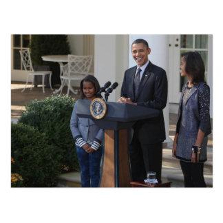 O presidente Barack Obama pardons Cartão Postal