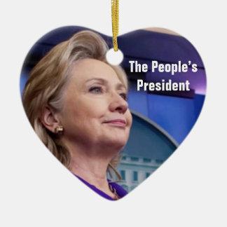 O presidente do pessoa: Ornamento de Hillary 2016