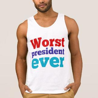 O presidente o mais mau Nunca