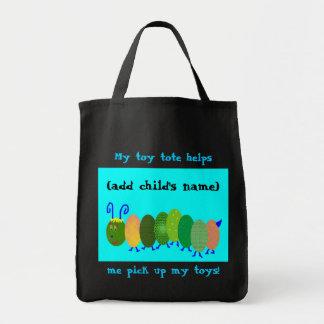 O preto da criança e o bolsa do brinquedo do Aqua