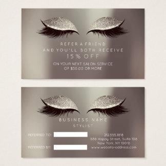 O preto de marfim VIP do cartão da referência do