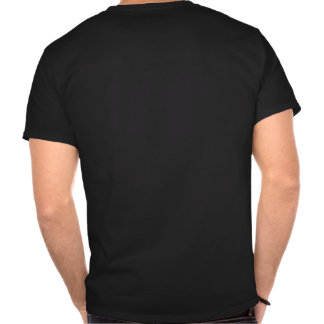 O preto é mau! tshirts