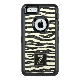 O preto Ecru do impressão da zebra listra o