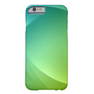 O primavera abstrato ilumina o caso do iPhone 6 Capa Barely There Para iPhone 6