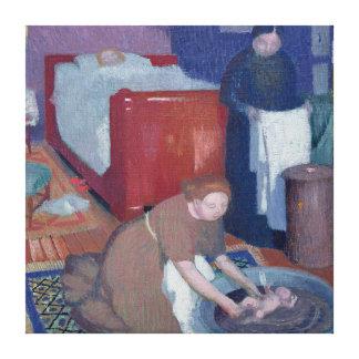 O primeiro banho, c.1899