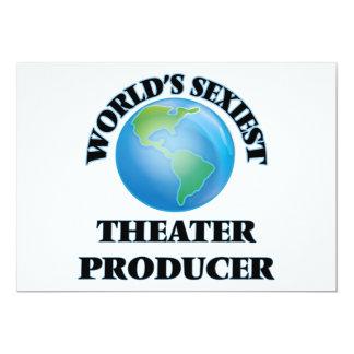 """O produtor o mais """"sexy"""" do teatro do mundo convites personalizados"""