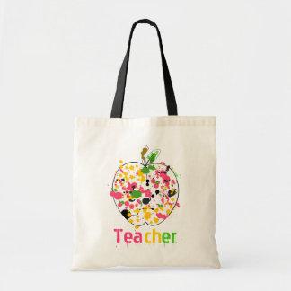 O professor Apple pinta o saco do Splatter Bolsa Para Compra