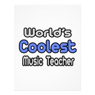 O professor de música o mais fresco do mundo panfletos