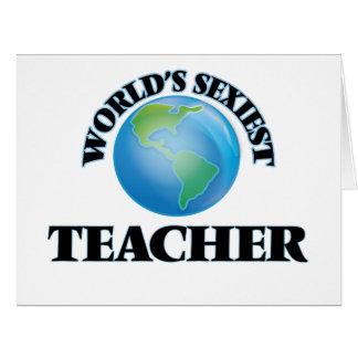 """O professor o mais """"sexy"""" do mundo cartao"""