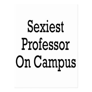"""O professor o mais """"sexy"""" Terreno Cartoes Postais"""