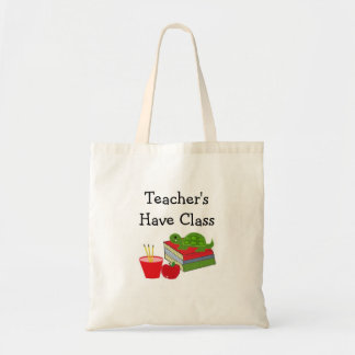 O professor tem a classe bolsa