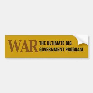 O programa governamental grande final adesivos