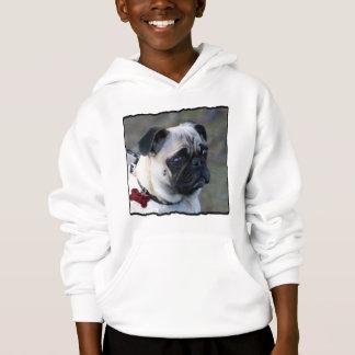 O Pug caçoa a camisola