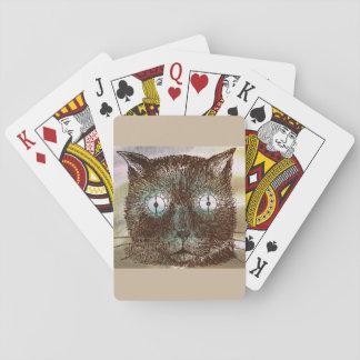 O pulso de disparo louco de Steampunk Eyes cartões Jogo De Carta