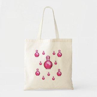O purfume do rosa da bolsa do bolsa do orçamento