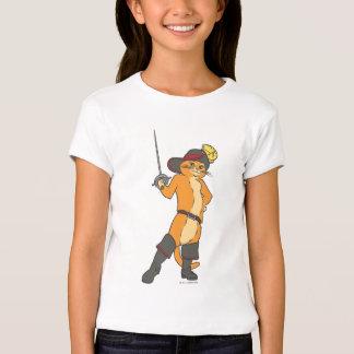 O Puss Brandishes a espada Camiseta