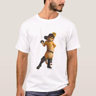 O Puss do CG acena a espada Camiseta