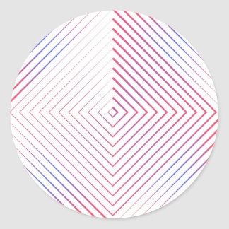 O quadrado alinha a etiqueta dos padrões
