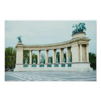 O quadrado dos heróis, Budapest Fotografia