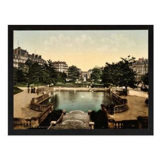 O quadrado e o lugar D'Arcy, cla de Dijon, France Cartão Postal