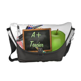 O quadro do professor personalizado bolsas mensageiro