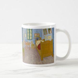 O quarto de Vincent em Arles por Vincent van Gogh Caneca