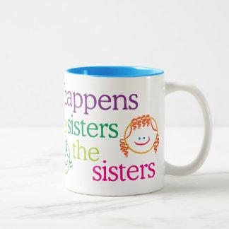 O que acontece com a caneca das irmãs