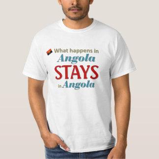 O que acontece em Angola Camiseta