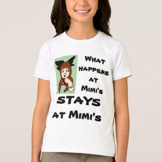 O que acontece na camisa dos mimi…