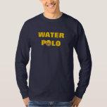 O que acontece na luva longa da água t-shirts