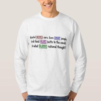 O que aconteceu ao pensamento racional tshirt