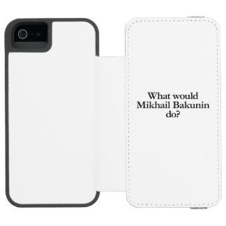 o que bakunin do mikhail faria
