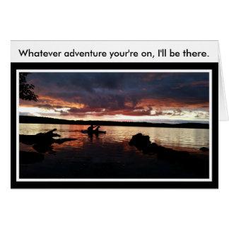 O que cartão da aventura de Adirondack para a