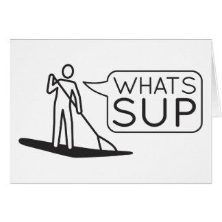 O que é cartão do SUP
