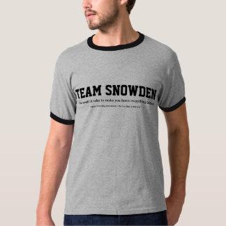 O que ele tomaria - Team Snowden Camisetas