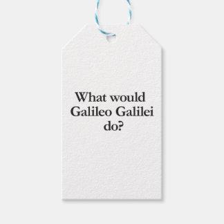 o que Galileu Galilei faria
