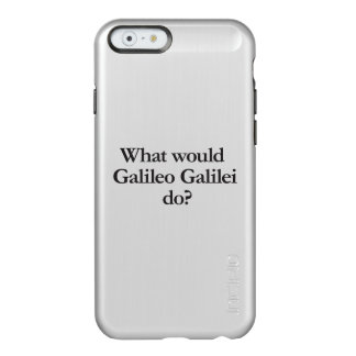 o que Galileu Galilei faria Capa Incipio Feather® Shine Para iPhone 6