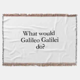 o que Galileu Galilei faria Manta