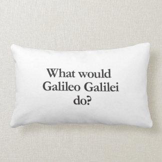 o que Galileu Galilei faria Travesseiro De Decoração