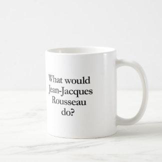o que Jean-jacques Rousseau faria Caneca De Café