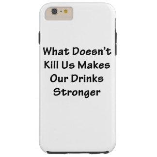 O que não nos mata capas iPhone 6 plus tough